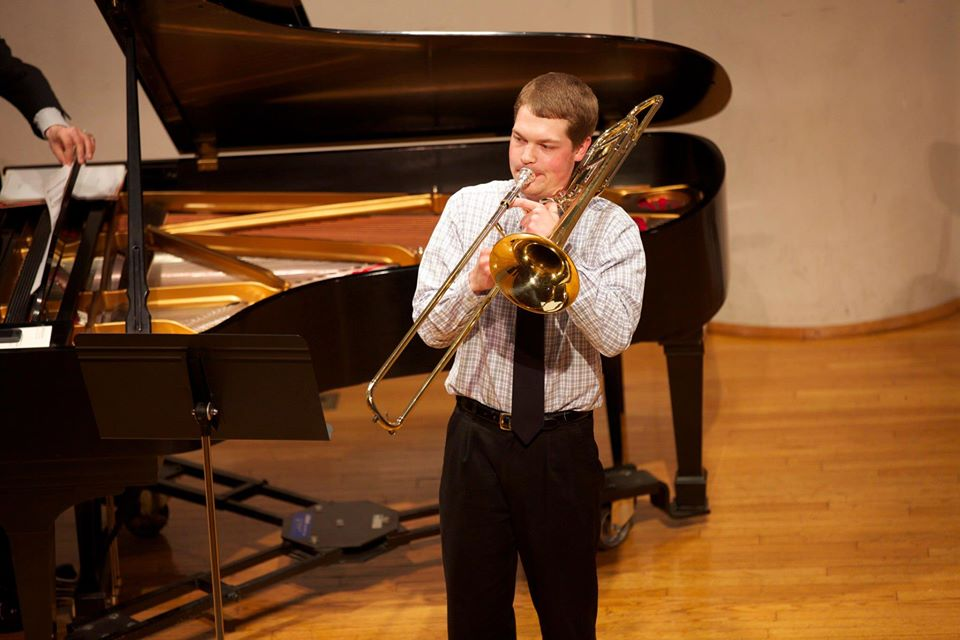 andrew wilson, trombone lessons at star music lab